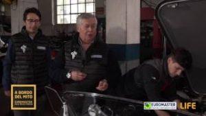 Controllo del motore - Euromaster alla Mille Miglia 2017