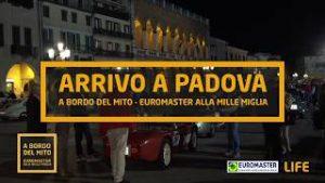Arrivo a Padova - Euromaster alla Mille Miglia 2017