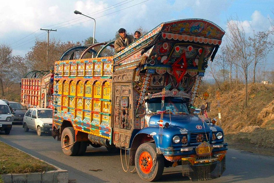 I camion decorati del Pakistan